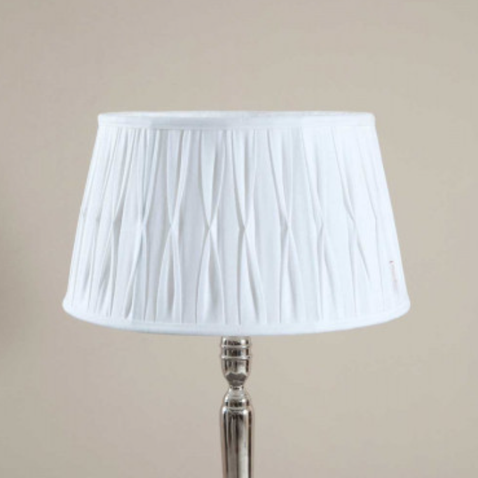 Cambridge Lampshade white - 35 x 45
