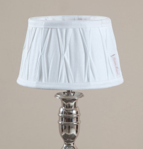 Cambridge Lampshade white - 15 x 20