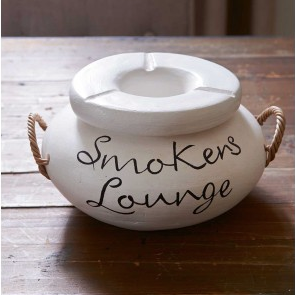Smokers Lounge Ashtray