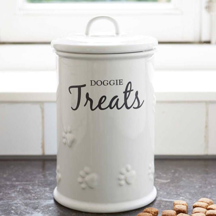 Doggie Treats Storage Jar