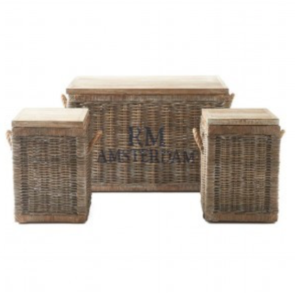 RR Plantation Trunk S White