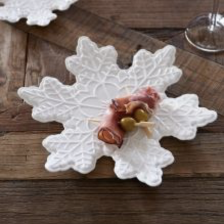 RM Party Plate Snowflake