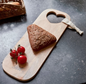 Happy Heart Cutting Board