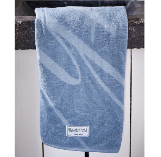 Spa Specials Bath Towel 140x70 steel