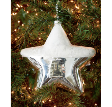 Merry Christmas XL Star Ornament