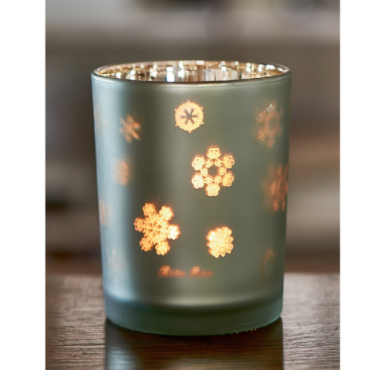 Snowstars Votive green
