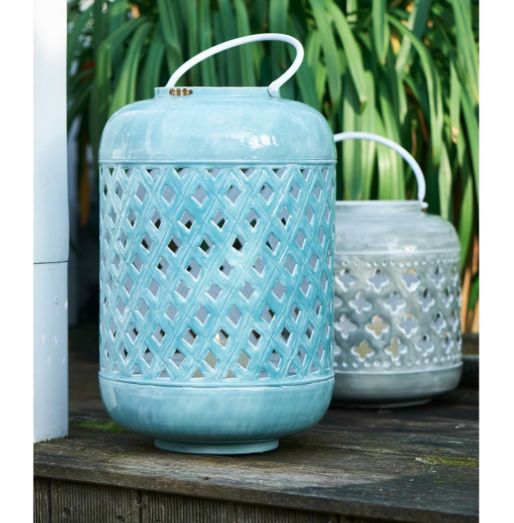 Via Curti Lantern blue