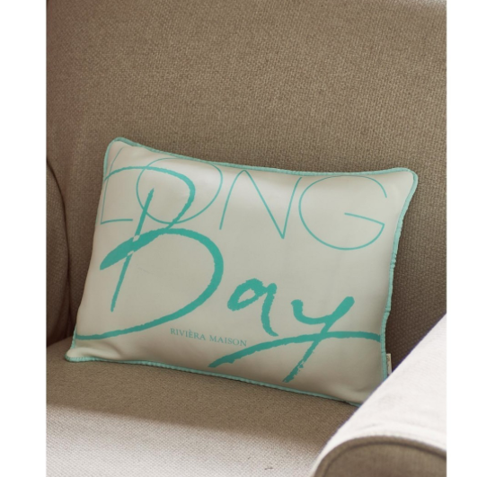 Long Bay Pillow blue 40x30