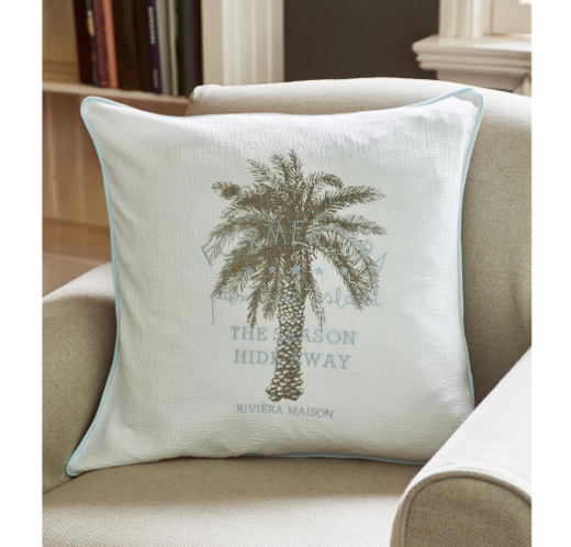 Formentera Palm Tree Pillow 60x60