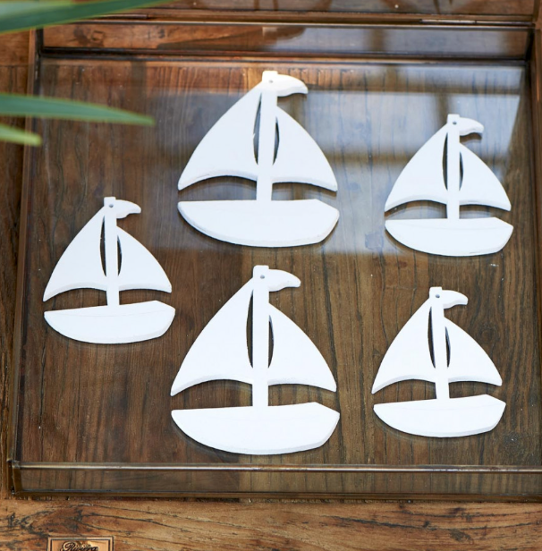 Happy Island Yacht Decoration
