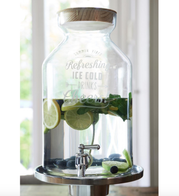 Refreshing Ice Cold Drinks Decanter