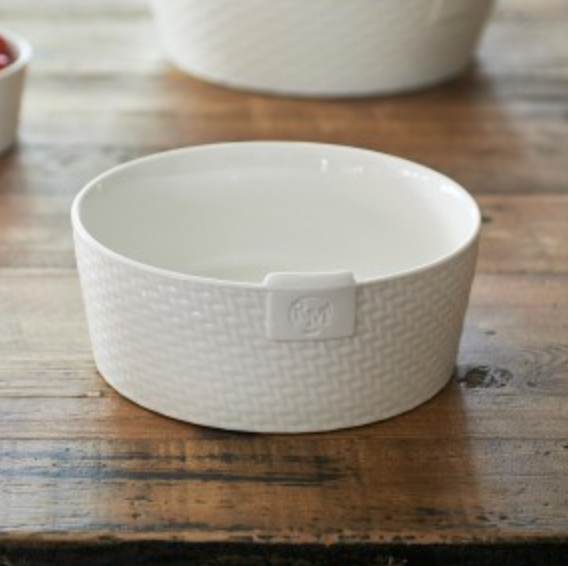 Pure Rattan Ceramic Bowl M