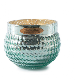 Whimsical Weave Votive green