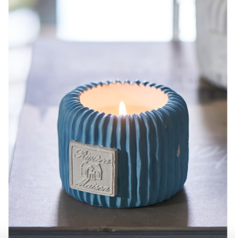Beach Resort Candle blue S