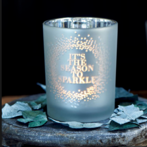 It`s The Season Votive silver