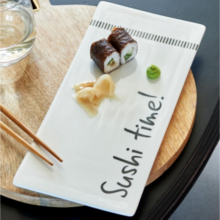 Sushi Time Plate