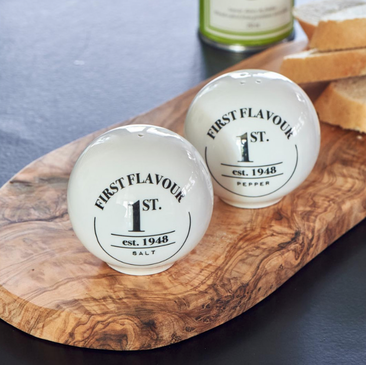 First Flavour Salt & Pepper Shakers