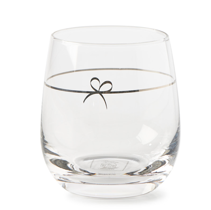 Happy Bow Water Glass