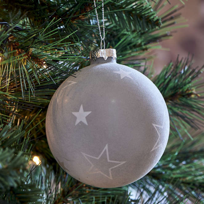 Snowstar Christmas Ornament Dia 10