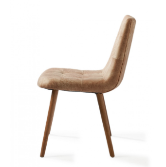 Duke Dining Chair Camel - 1