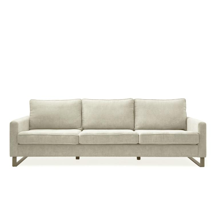 West Houston Sofa 3,5 s Pearl