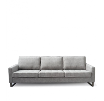 West Houston 3.5 seater sofa platinum