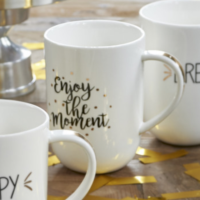 70 Years Of Happiness Enjoy Mug