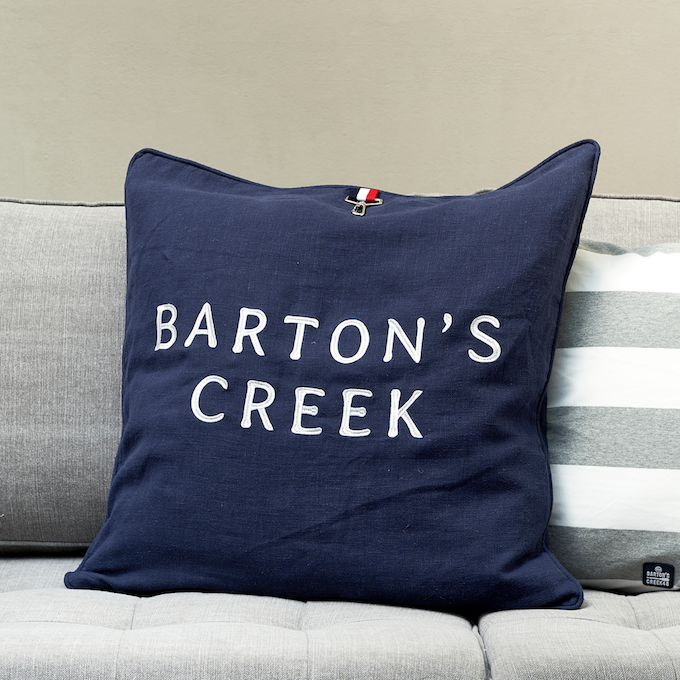 Barton`s Creek Navy P.Cover 60x60