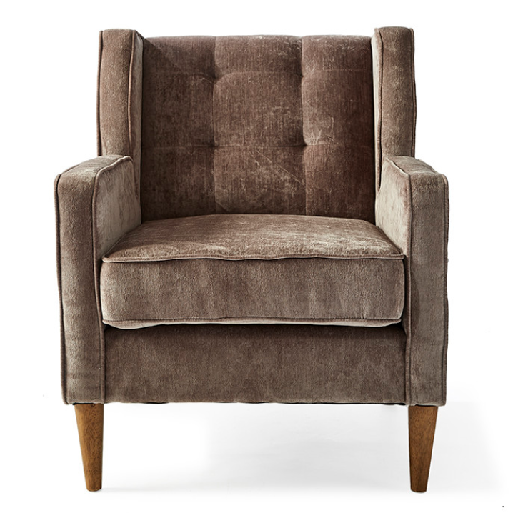 Repulse Bay Armchair Velvet Olive