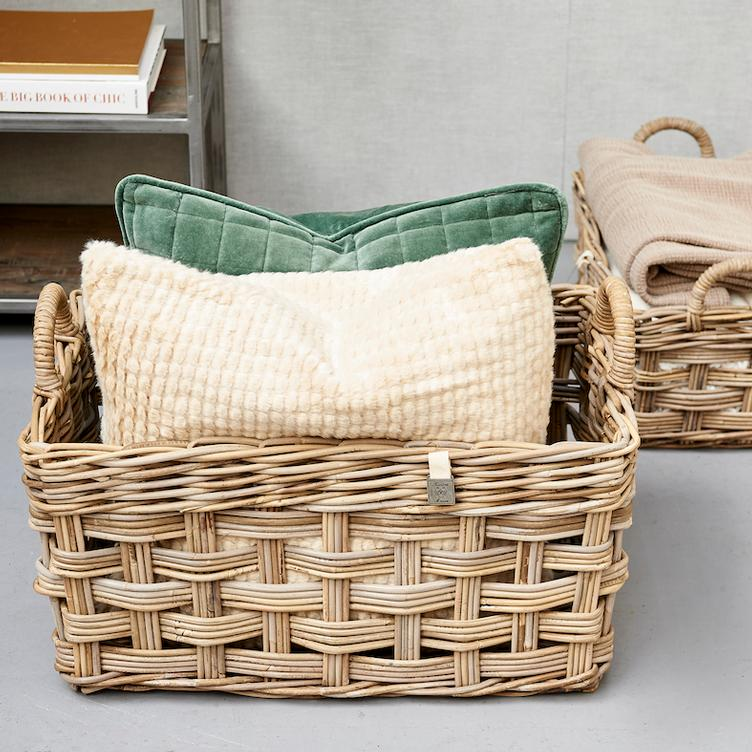 RR Weave Rectangular Basket M
