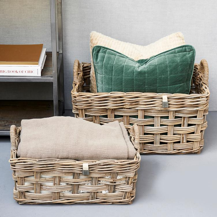 RR Weave Rectangular Basket S