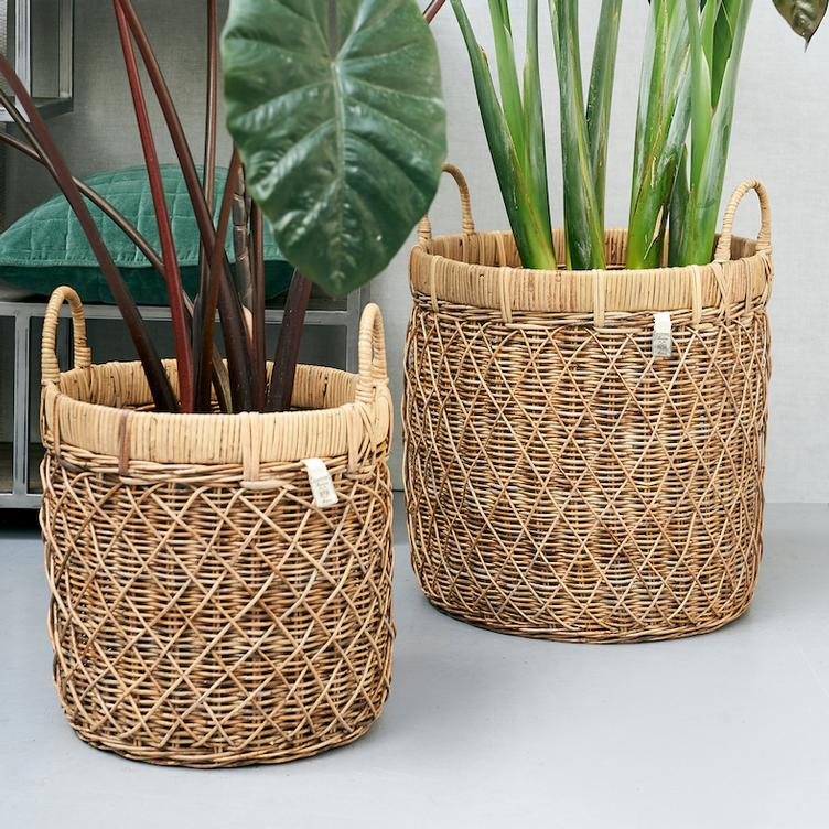 RR Diamond Weave Basket M