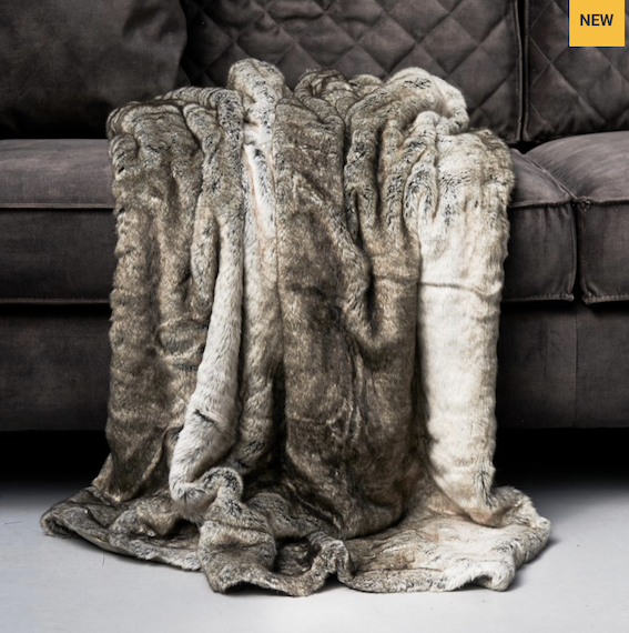 Magic Mink Faux Fur Throw 170x130