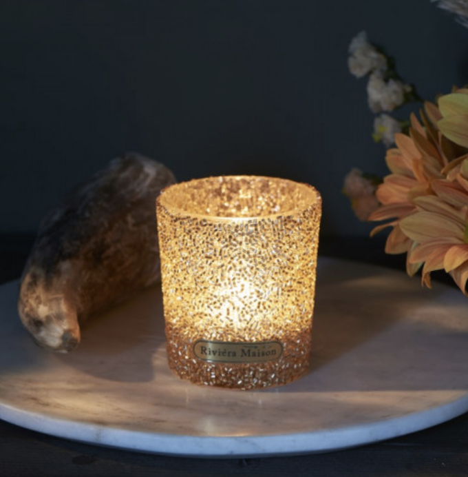 Silver Dust Sprinkle Votive S