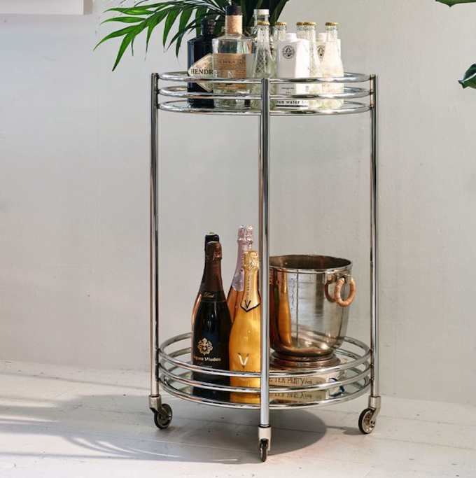 L`Hotel Bar Trolley