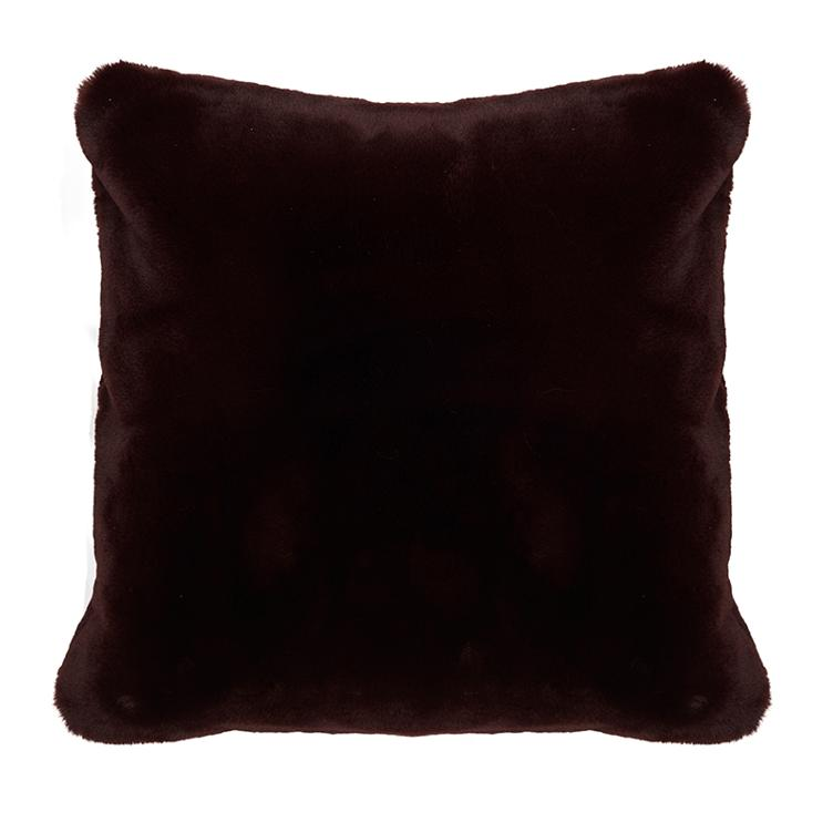 Faux Fur Pillow Cover Dred 50x50