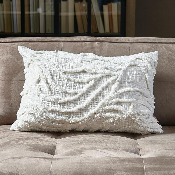 Desert Wave Pillow Cover off-white