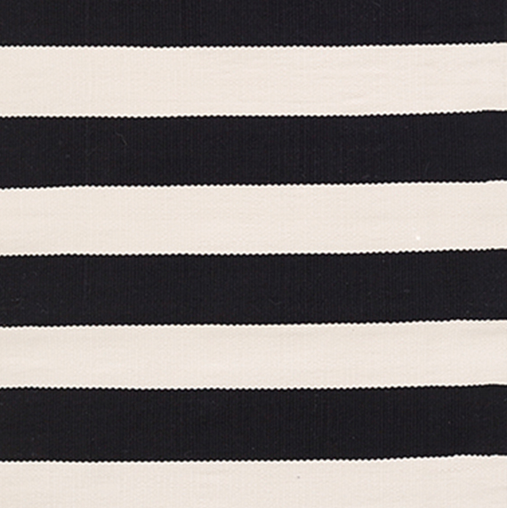 OUTDOOR Catamaran Stripe black/ivory 91x152